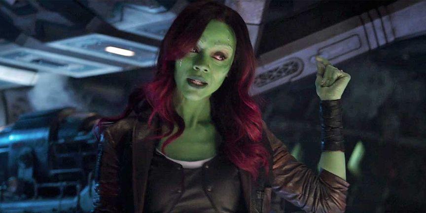 Gamora in Infinity War's Trailer