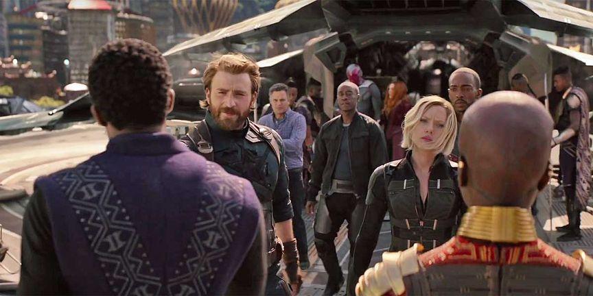 Avengers meeting in Wakanda