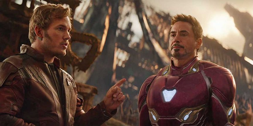 Star Lord & Tony Stark