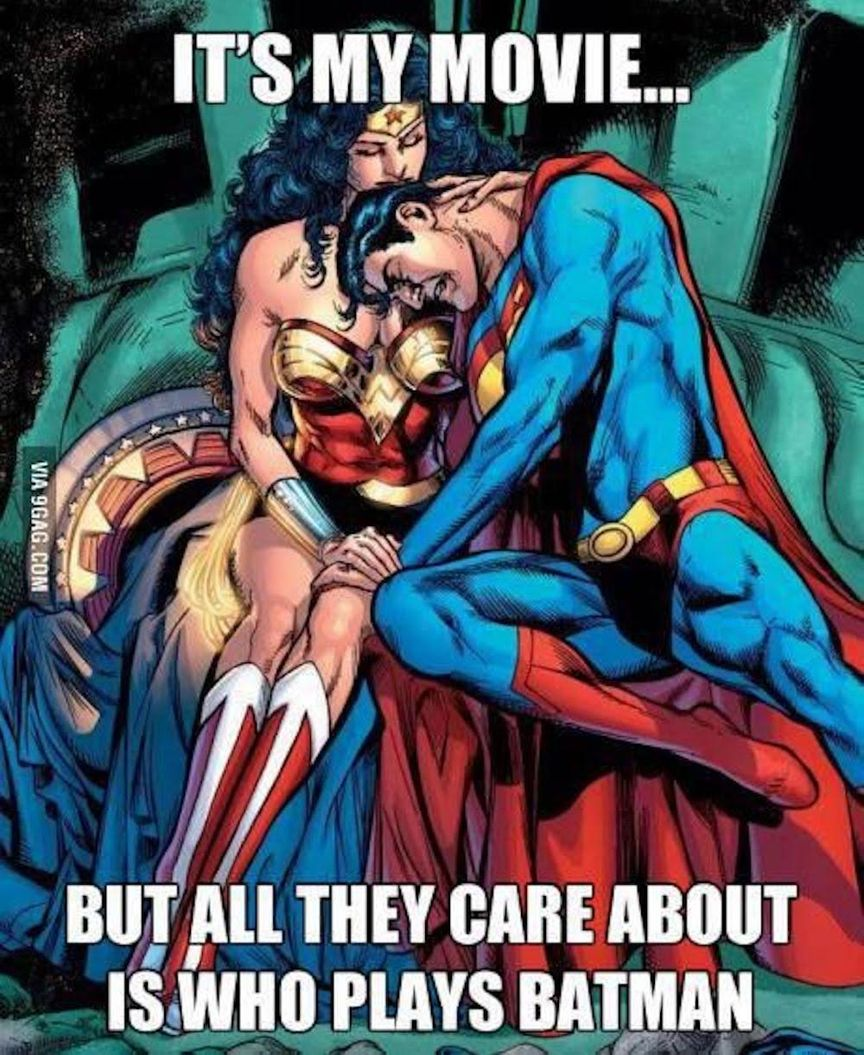 Wonder Woman Consoling Supes