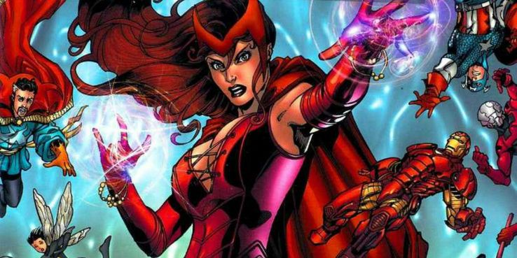 15 Most Dangerously Powerful Things Done By Scarlet Witch | CBR
