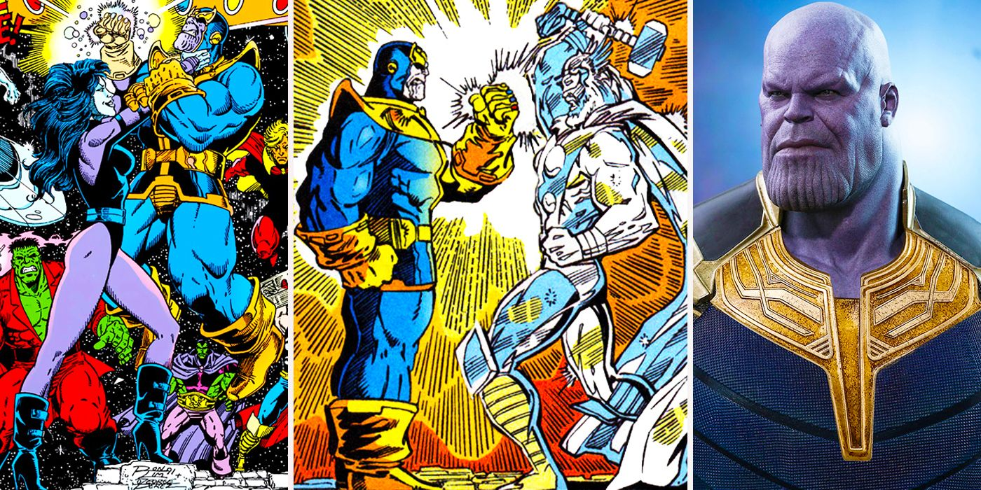 infinity war: 20 scenes from the comics that will (and won't) make