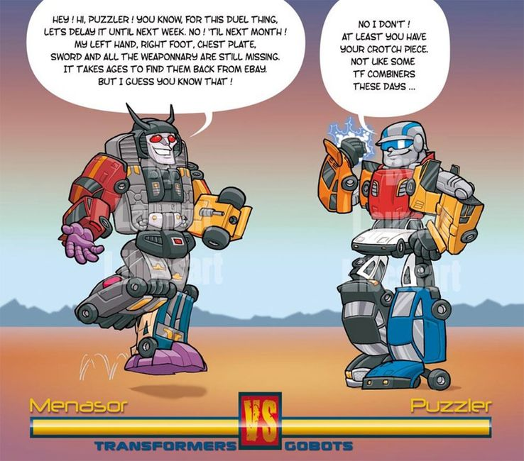 Go-Bots Vs  Transformers: 20 Dank Memes To Finally Settle