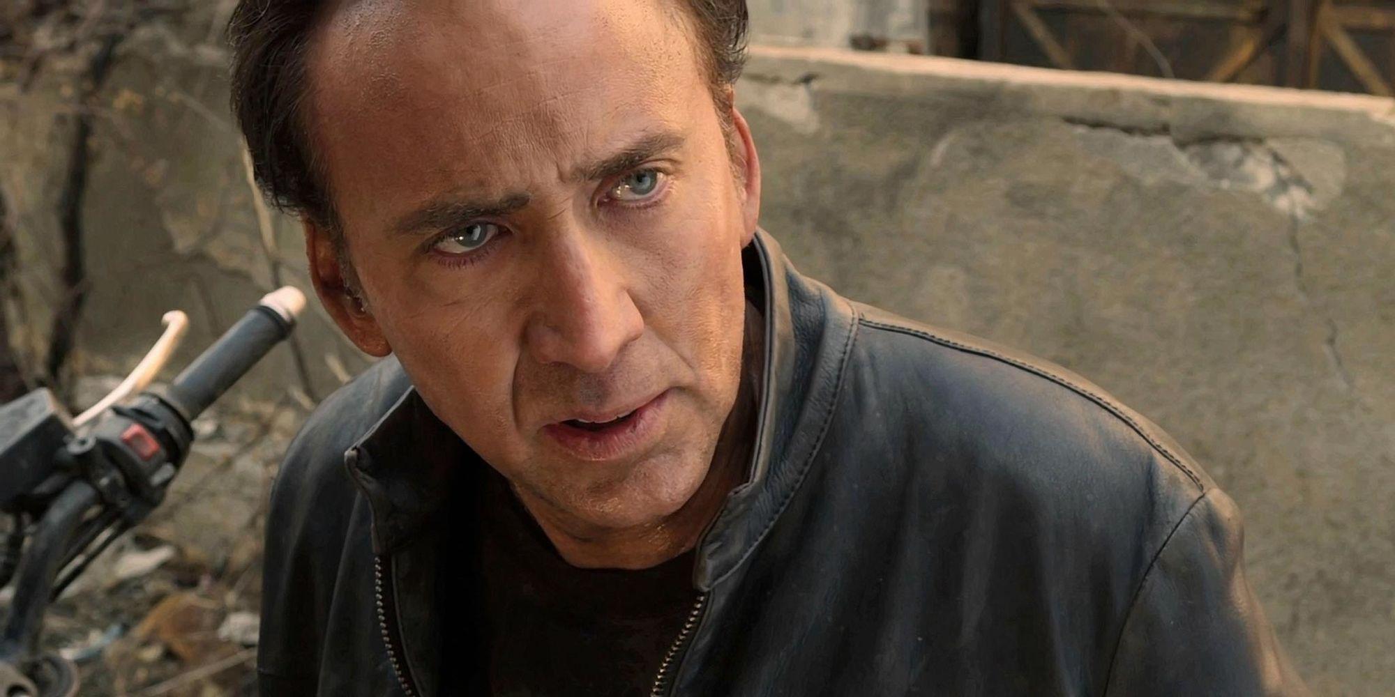 Nicholas Cage as Ghost Rider.