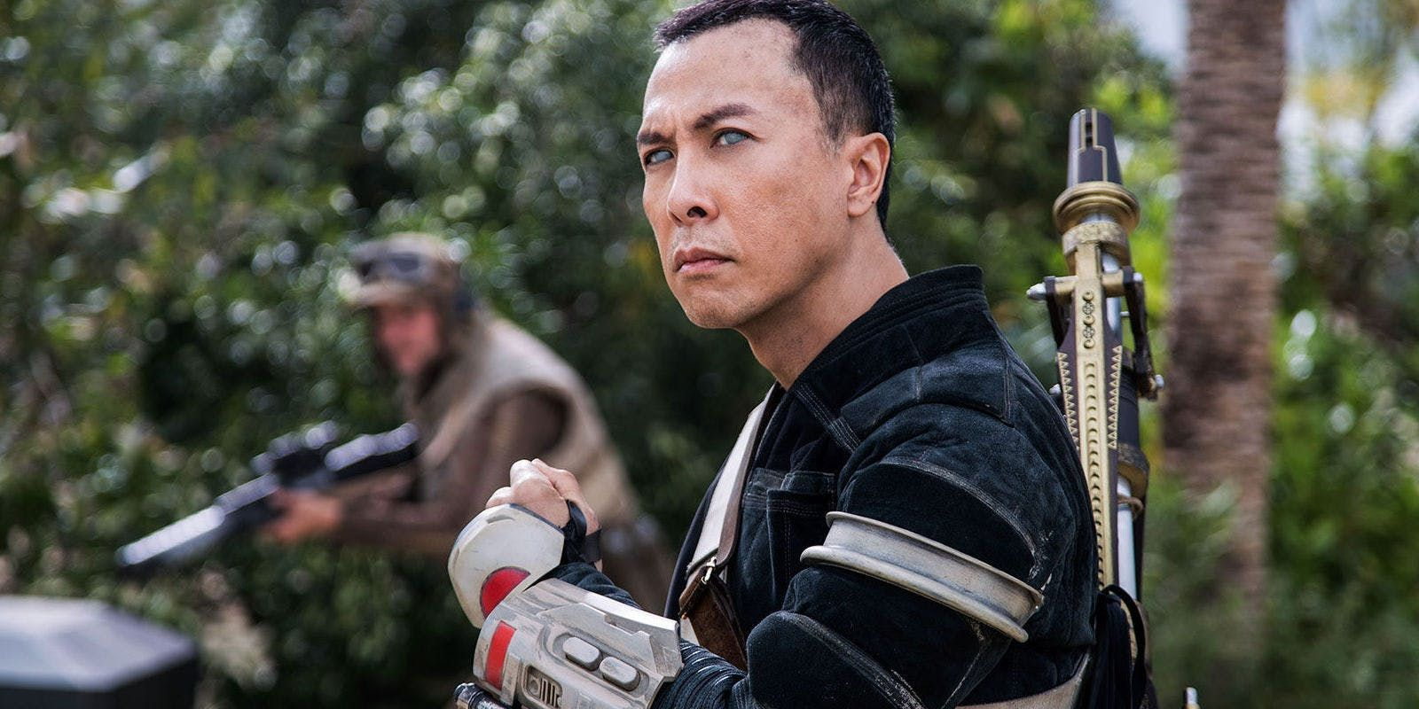 Rogue One's Donnie Yen Performs Bottlecap Challenge Blindfolded