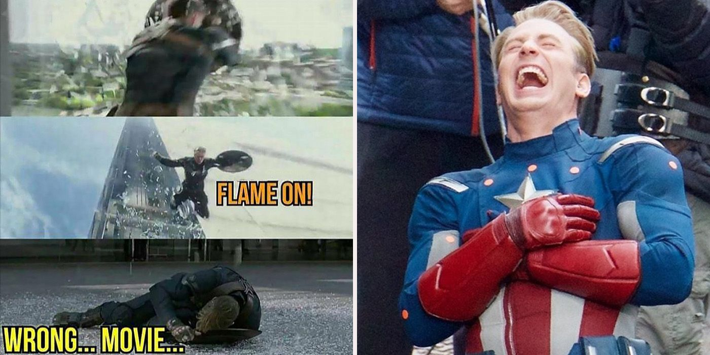 Danktain Amerimeme: 20 Hilarious Chris Evans Superhero Memes