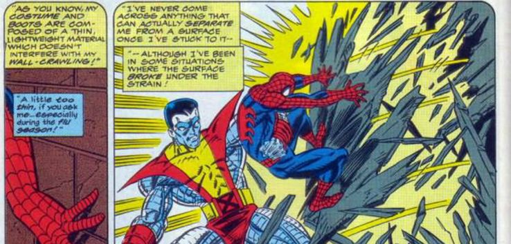 Sticky Fingers: 20 Weird Facts About Spider-Man's    Hands