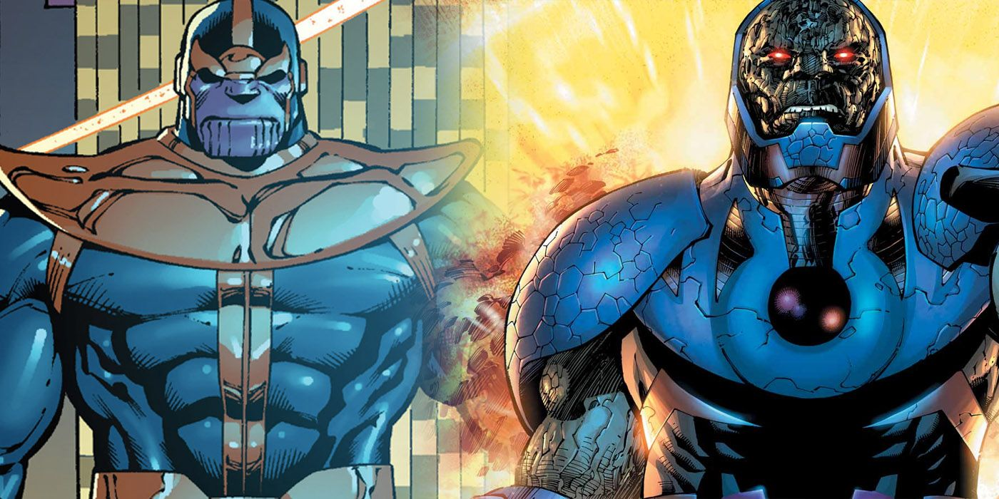 Darkseid Disses Thanos in Injustice 2 Mobile Ad | CBR