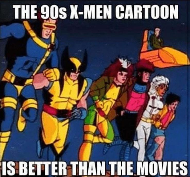 X-Men The Animated Series: The 20 Most Hilarious Memes | CBR