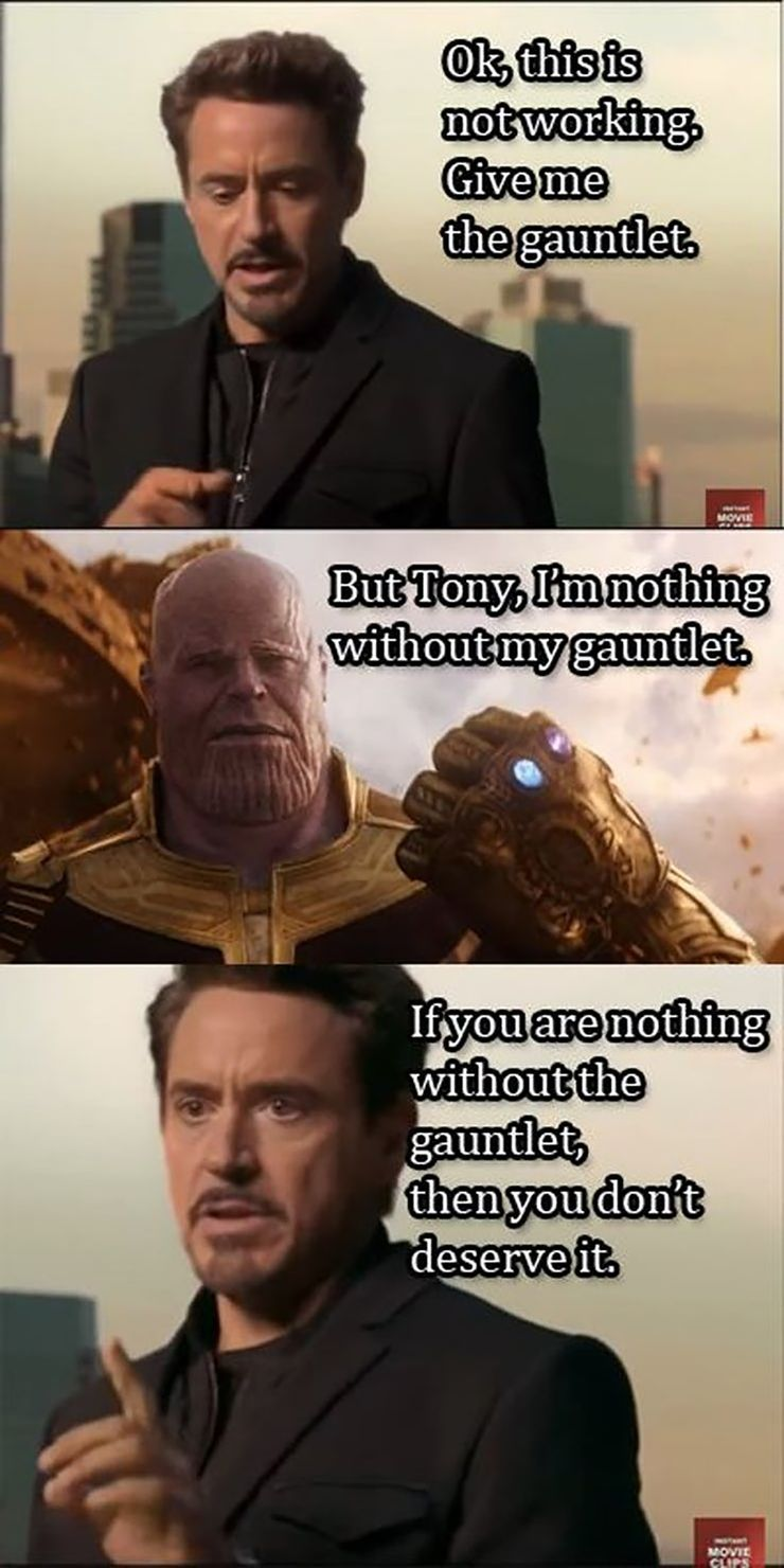 18 Thanos And The Black Order Memes Cbr