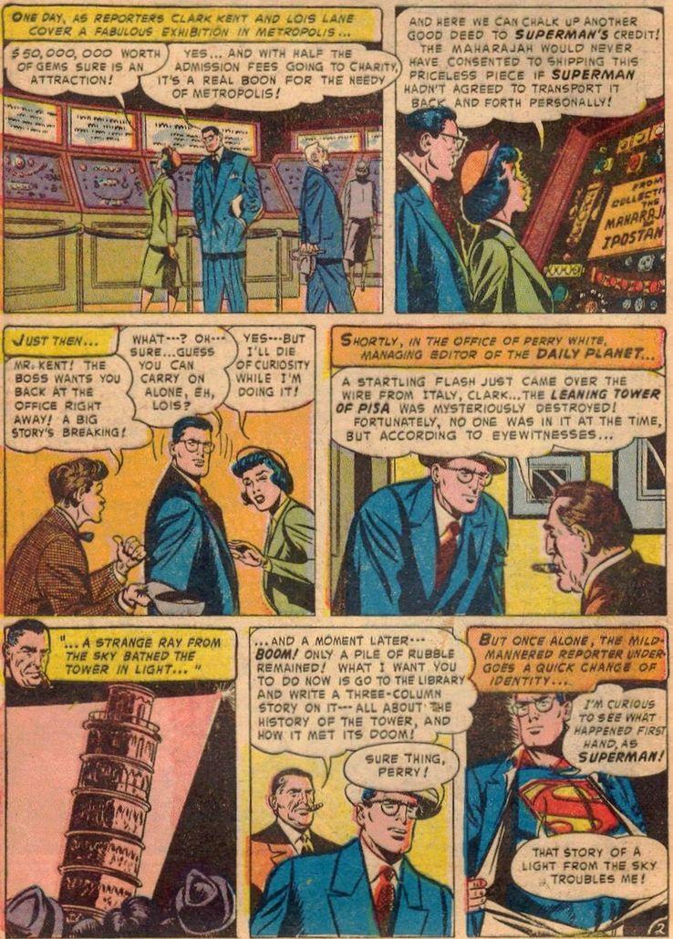 """superman 83 - ¿Cuándo dijo Perry White por primera vez """"Por el Fantasma del Gran César"""" en los cómics?"""