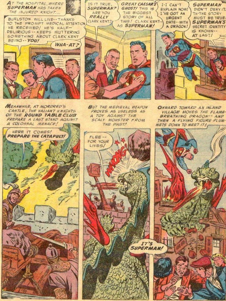 """superman 86 - ¿Cuándo dijo Perry White por primera vez """"Por el Fantasma del Gran César"""" en los cómics?"""