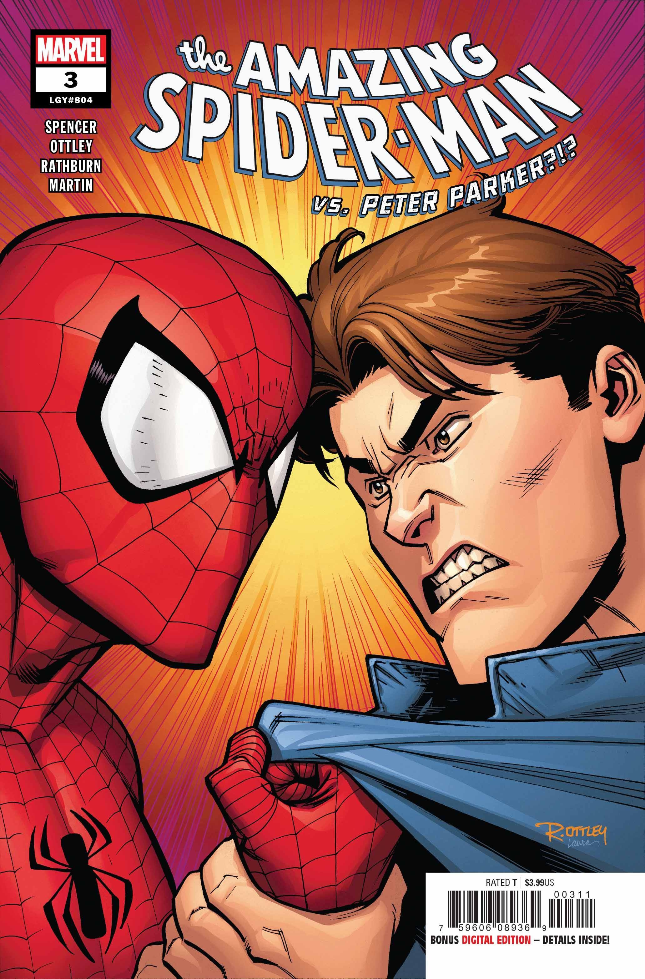 SC Marvel Comic PETER PARKER DER SPEKTAKULÄRE SPIDER-MAN 3