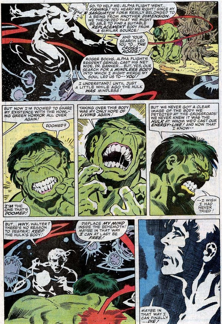 The Hulk/Alpha Flight Crossover That Crossed Over Creators, Too!