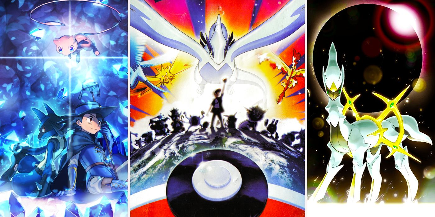 Every Pokemon Movie Ever, Officially Ranked | CBR