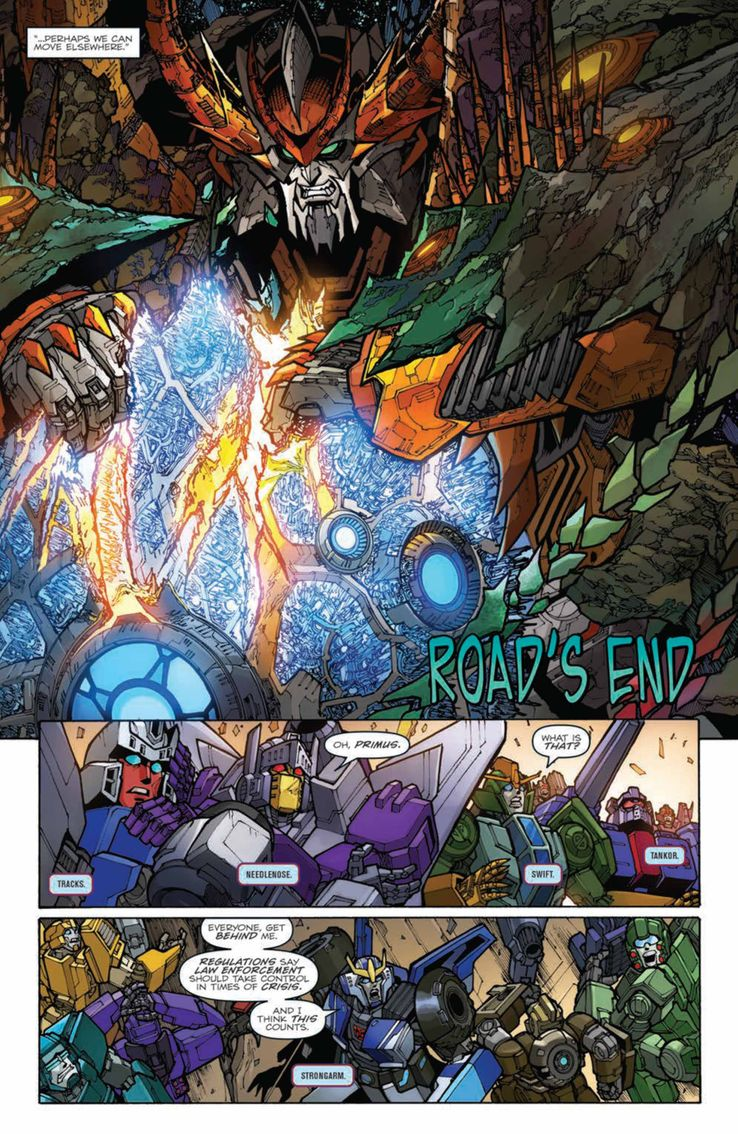 PREVIEW: Transformers: Unicron #4 (of 6) | CBR