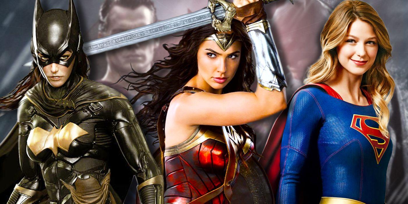 DC's Film Trinity Should Be Wonder Woman, Supergirl & Batgirl