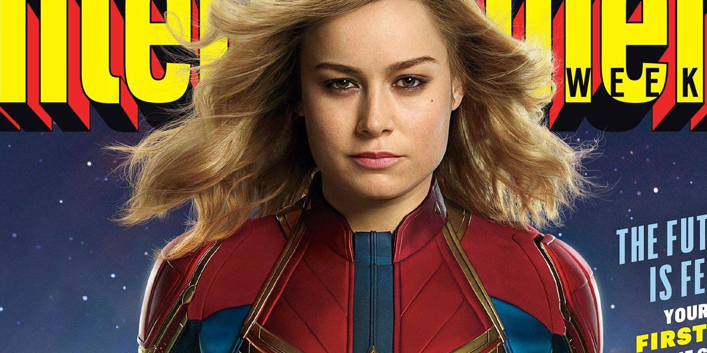 Captain Marvel Unveils First Official Image of Brie Larson in Costume