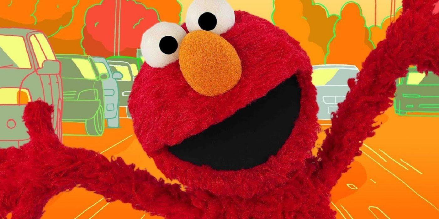 Sesame Street BTS Clip Shows Elmo React to Julia Louis-Dreyfus Swearing