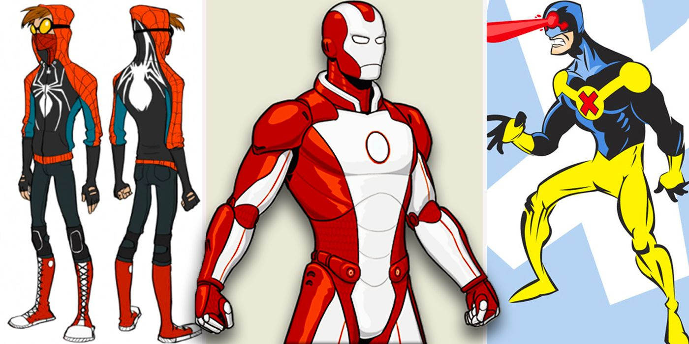 25 Crazy Fan Made Costume Redesigns That We Wish Marvel Would Use