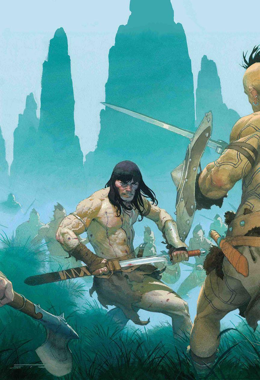 CONAN THE BARBARIAN #2 | The Swords of Robert E  Howard