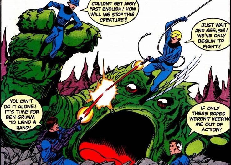 Resultado de imagem para if the fantastic four had not gained their super powers