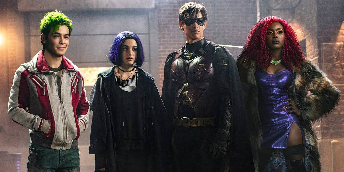 Titans Stars Turned to Wolfman & Perez's Run for Inspiration