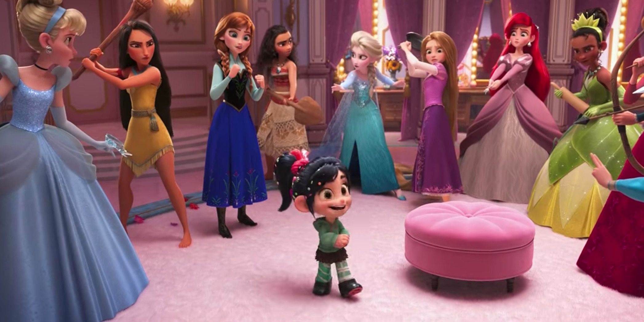 Ralph Breaks The Internet Brings The Disney Princesses Into The 21st Century