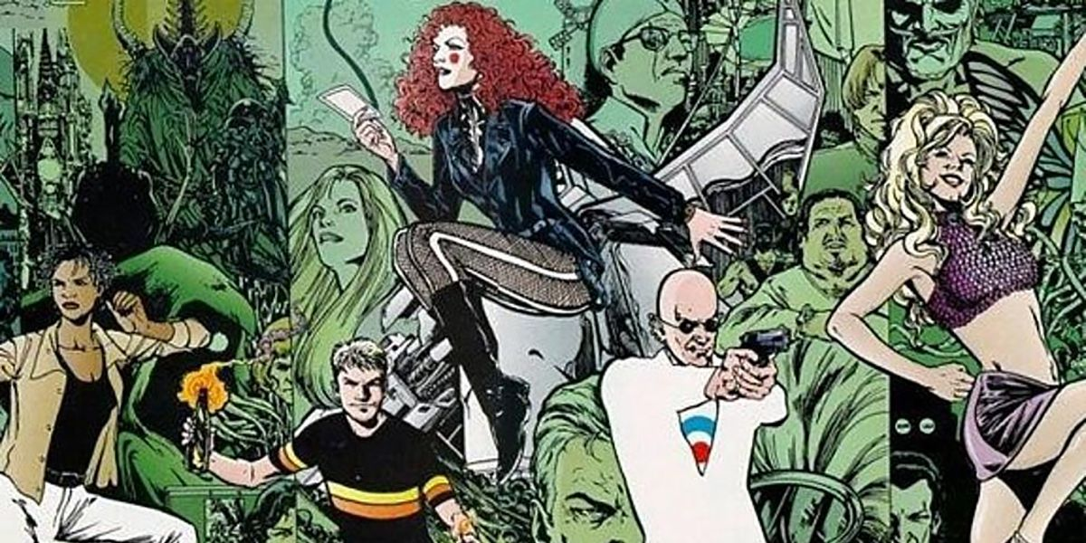 Grant Morrison's The Invisibles Heads to TV as Part of New Deal