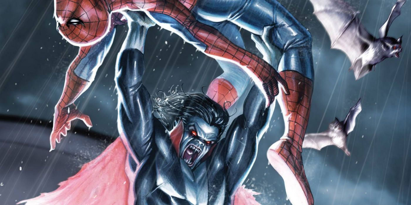 Morbius Movie Set Photo Features a Marvel Comics Easter Egg