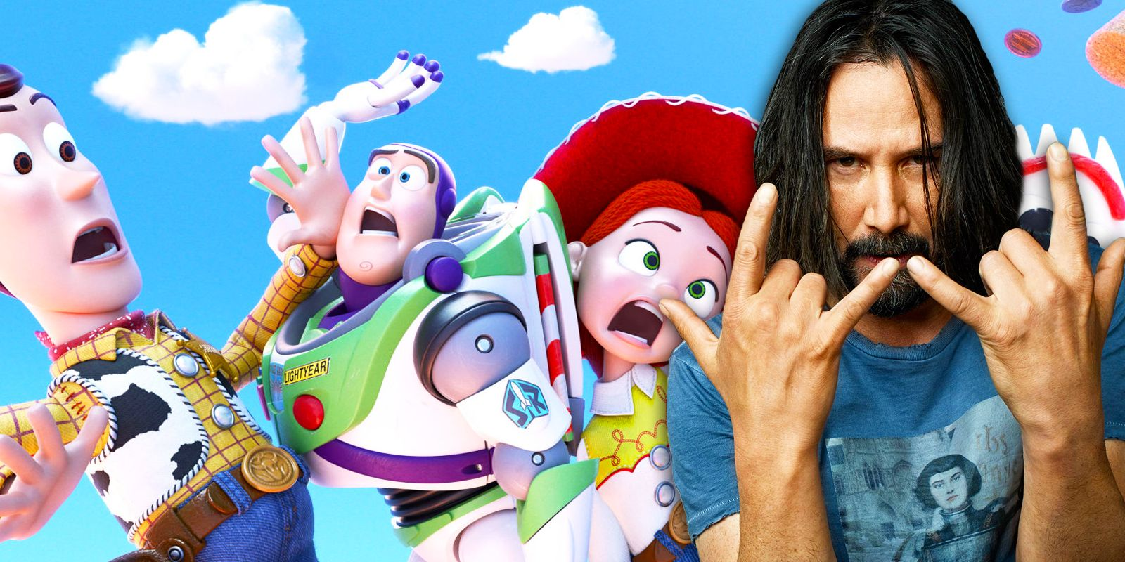 Toy Story 4 Promo Spotlights Keanu Reeves' Duke Caboom