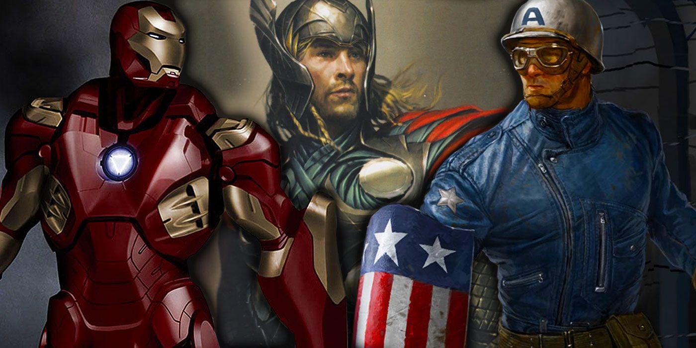 MCU Concept Art: Exploring Unused Marvel Movie Art - Phase 1