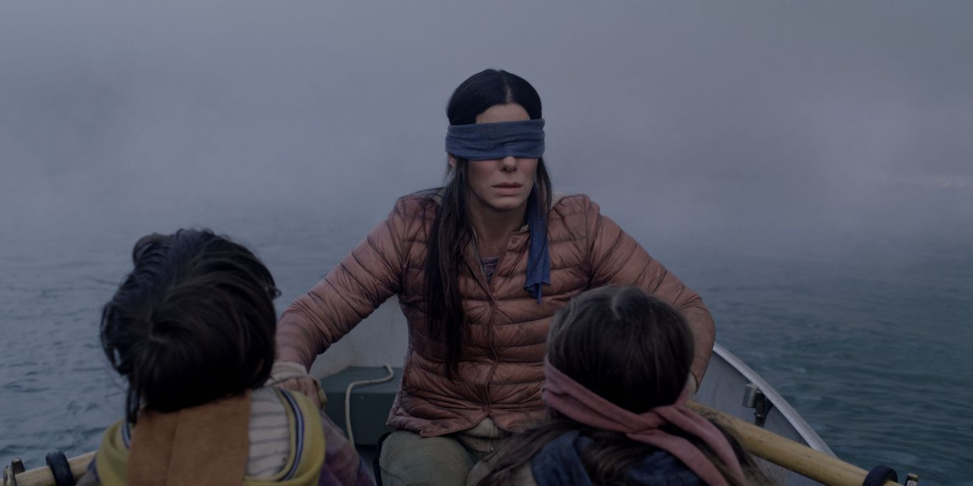 Bird Box Deleted Scene Revealed The Film S Mysterious Monsters