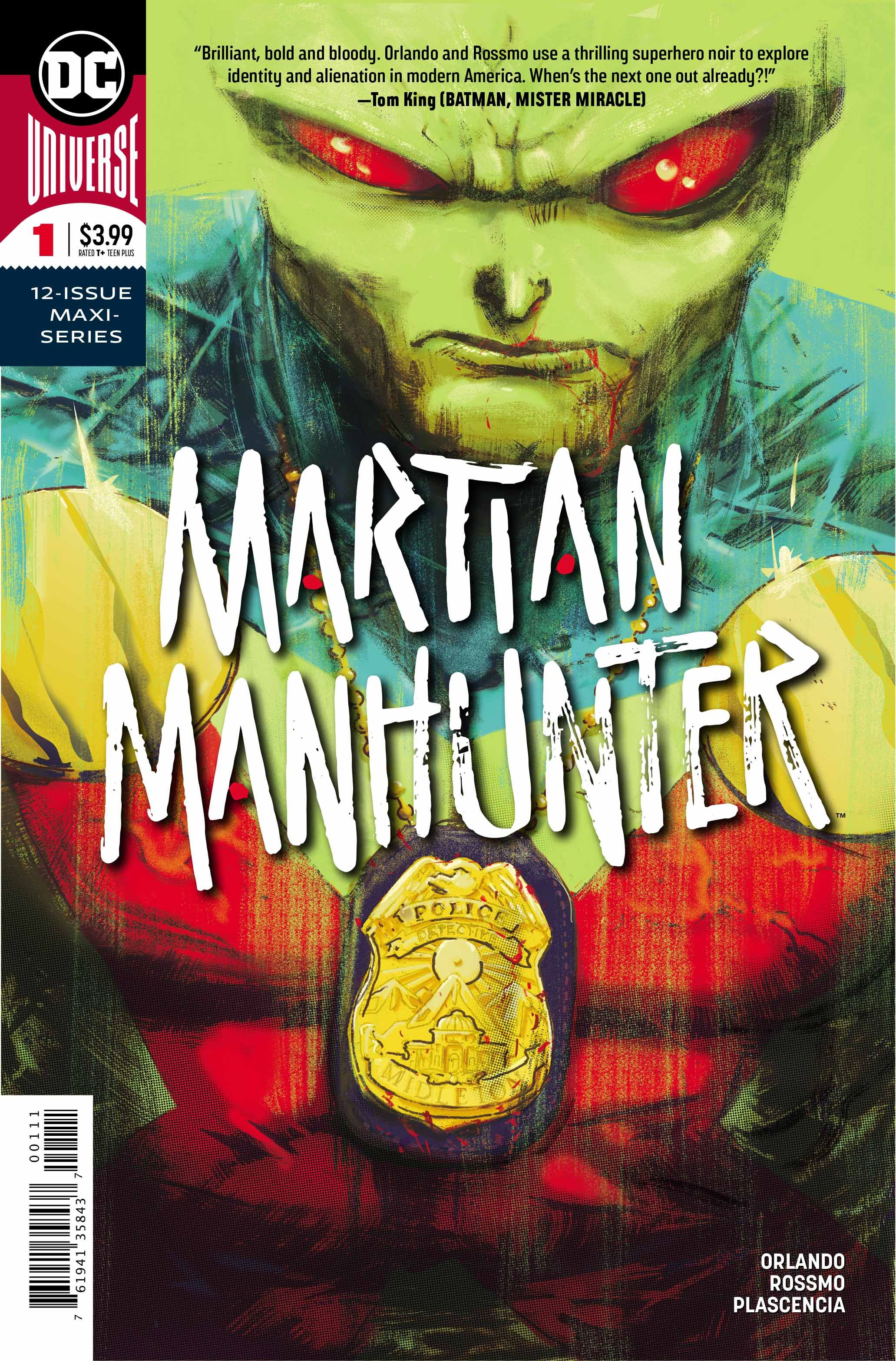 Image result for martian manhunter #1 2018