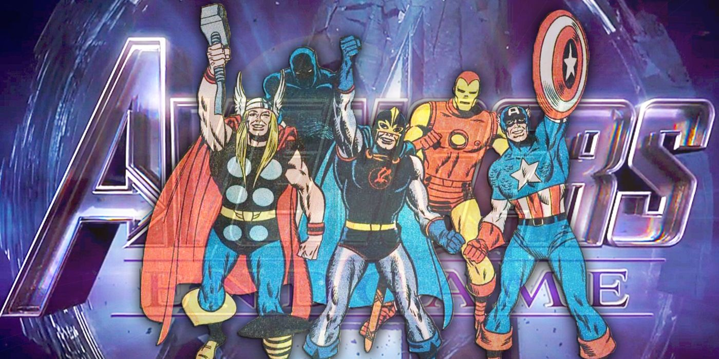Avengers: Endgame Happened 50 Years Ago - With Marvel's Justice League?
