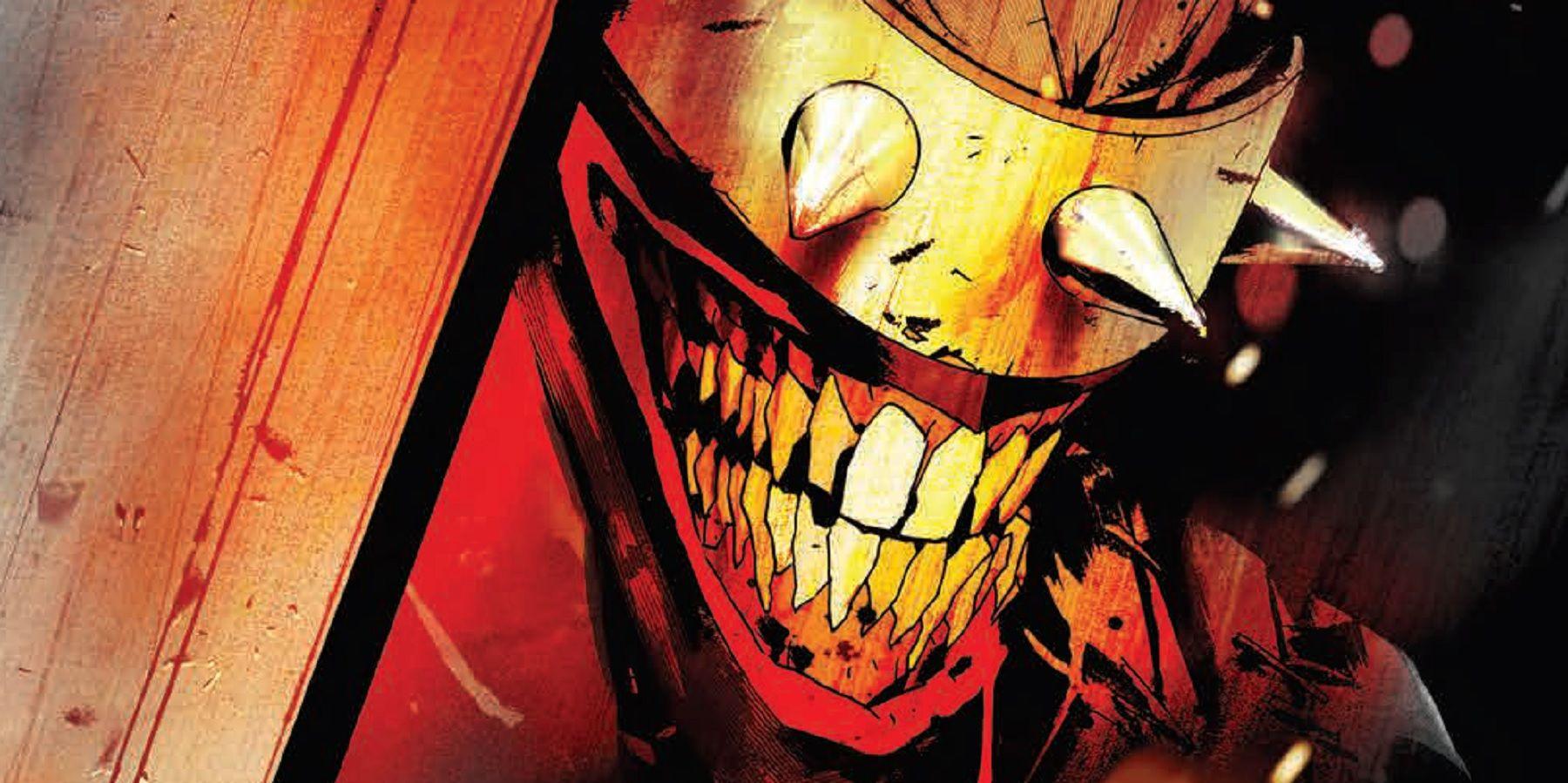 Batman Who Laughs' Batcave Is Beneath Crime Alley   CBR