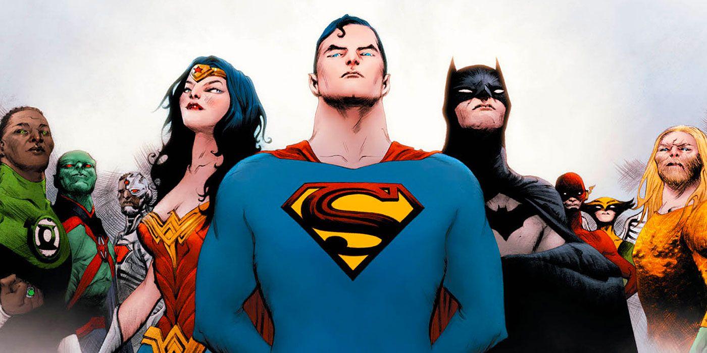 Justice League Debuts New Logo for 60th Anniversary | CBR