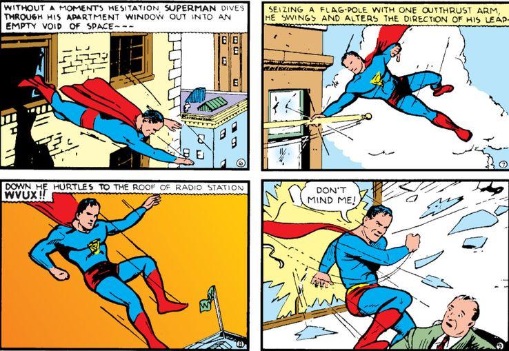 action comics 12 2 - La primera vez que Superman se abrió la camisa