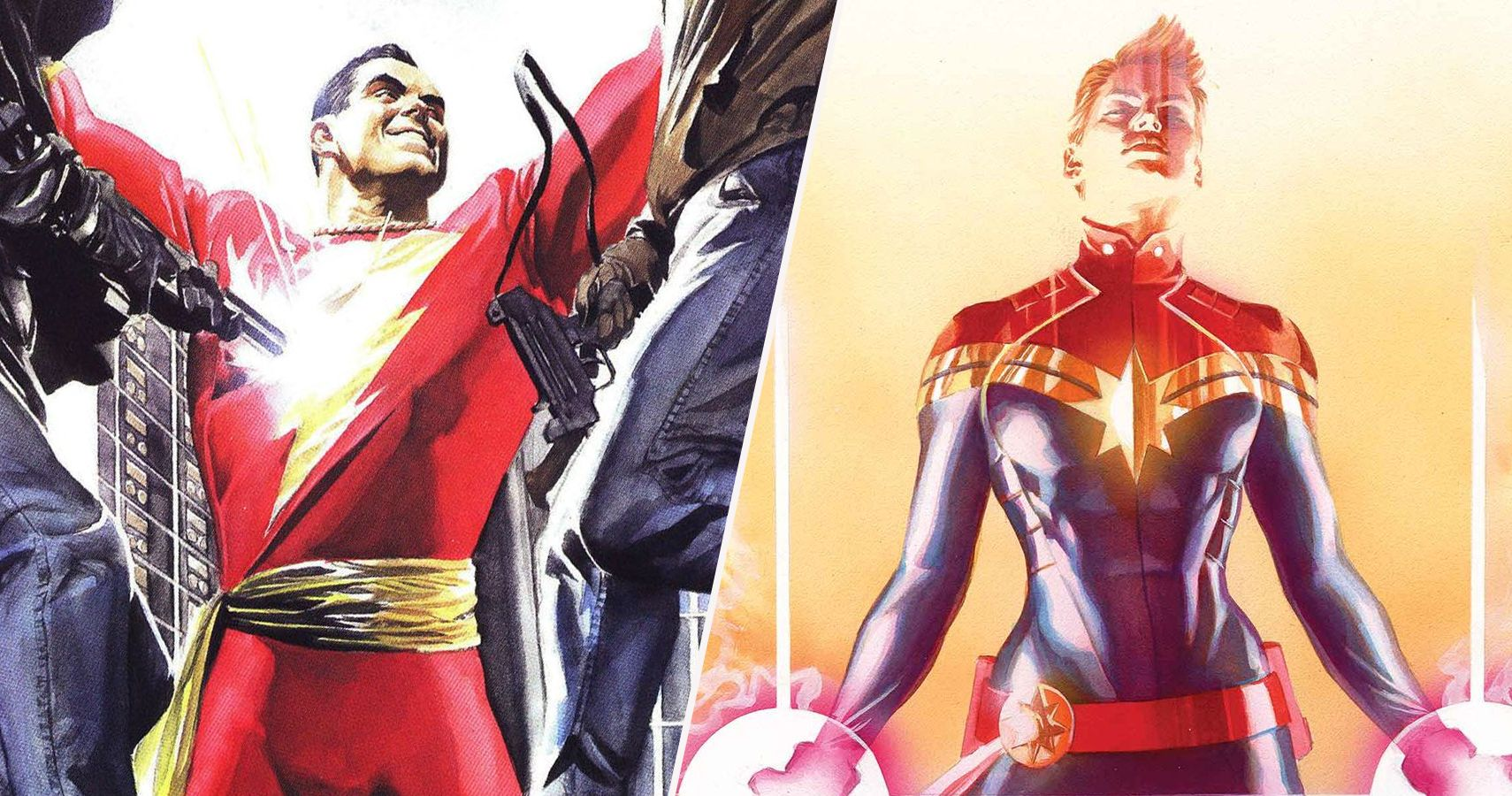 Captain Marvel 10 Reasons Why Dc Has The Best One And 10 Reasons