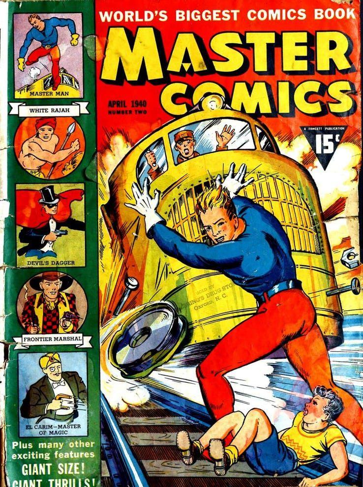master man - Shazam! vs Superman: ¿Quién es más poderoso?