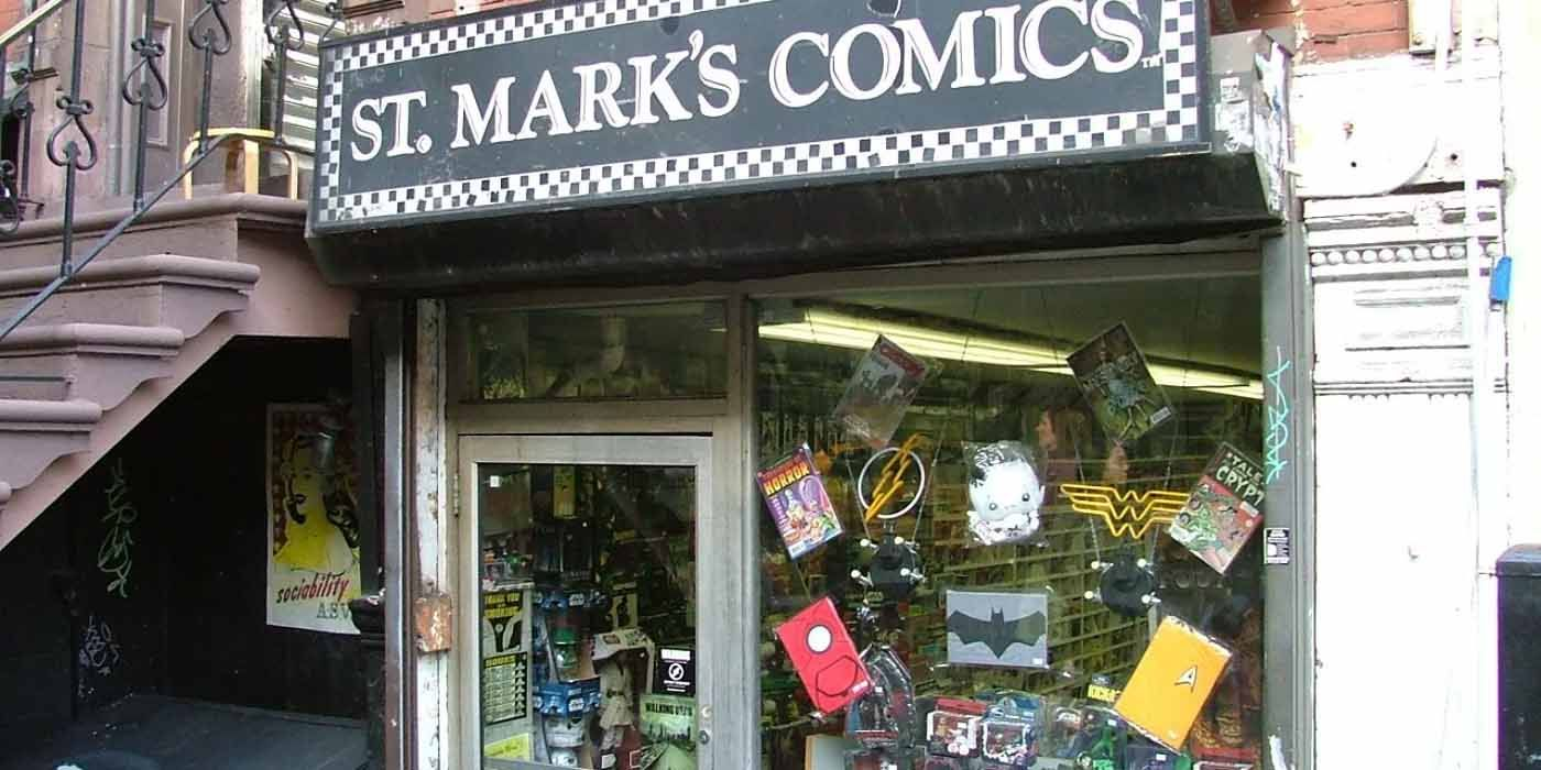 Iconic NYC Comic Store St. Marks Is Going Out of Business