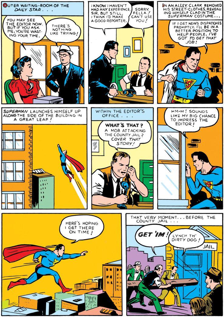 superman 1 - La primera vez que Superman se abrió la camisa