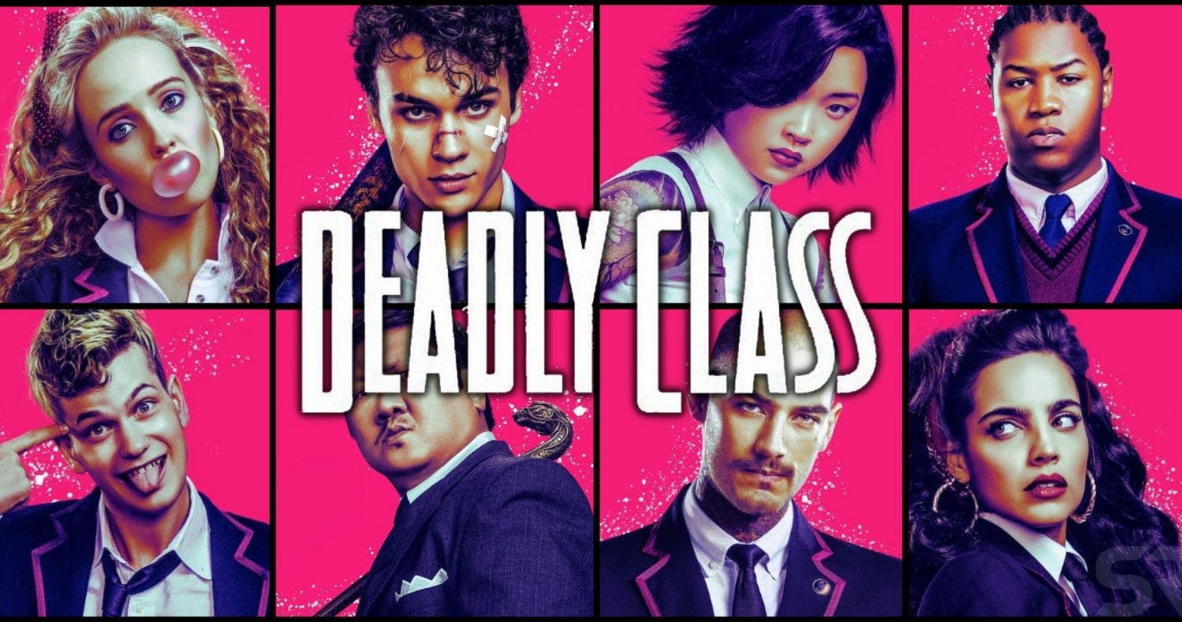 Syfy's Canceled Deadly Class, Happy Not Dead Yet   CBR