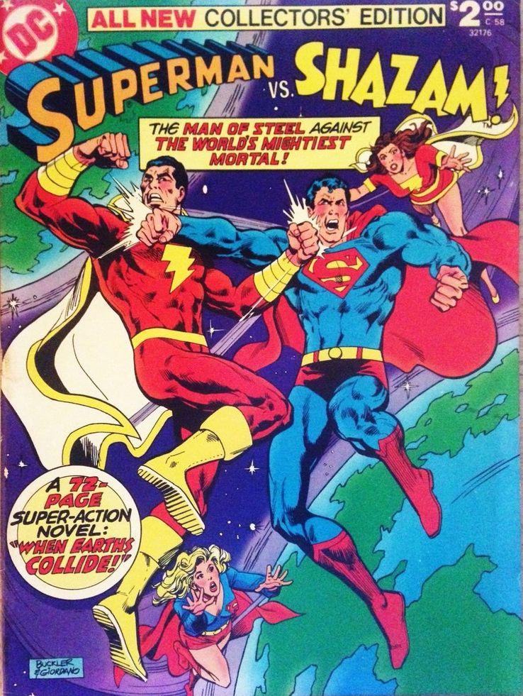 all new collectors edition 58 - Shazam! vs Superman: ¿Quién es más poderoso?