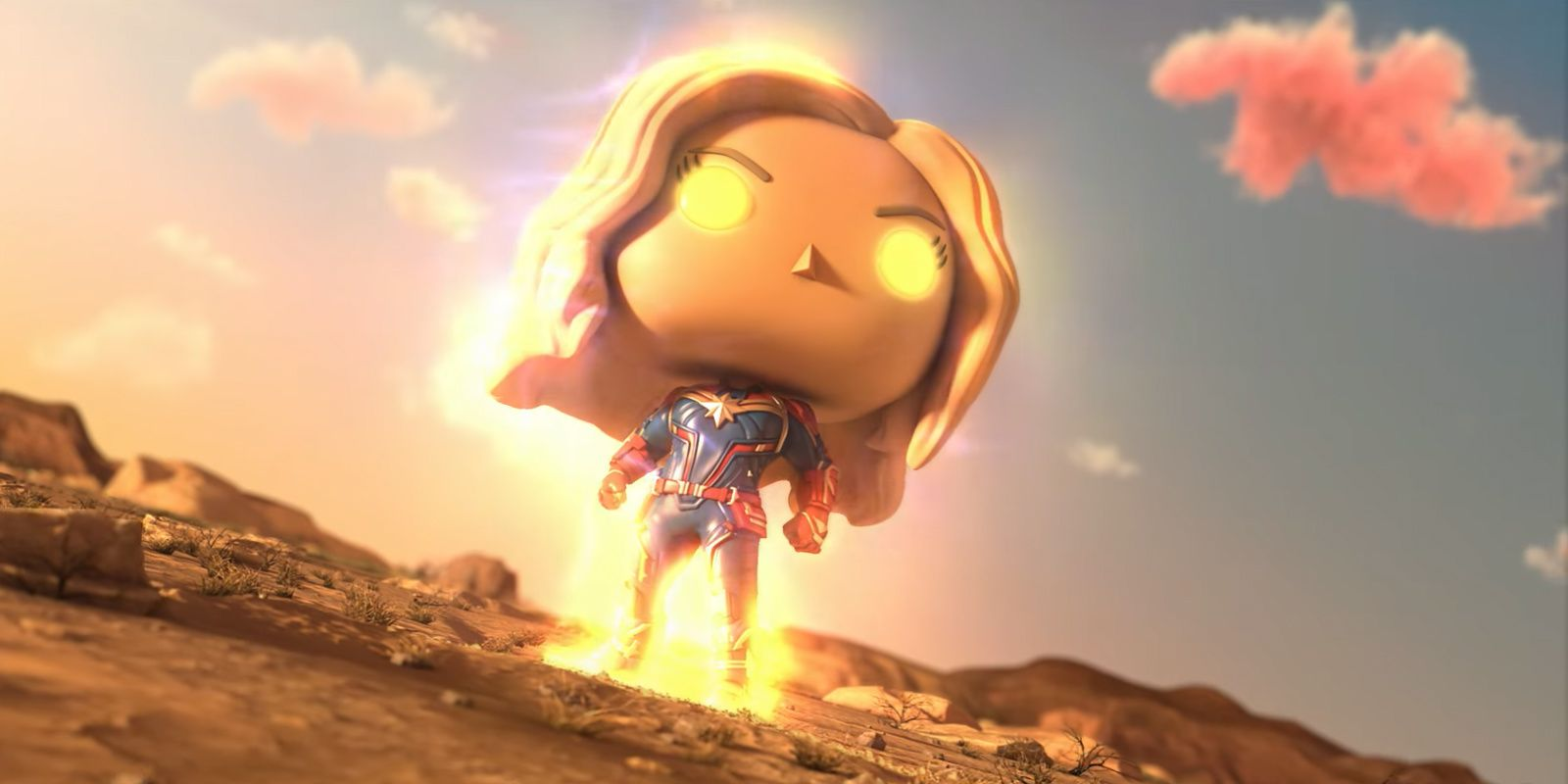 Captain Marvel Goes Neon in New Funko Pop! Figure | CBR