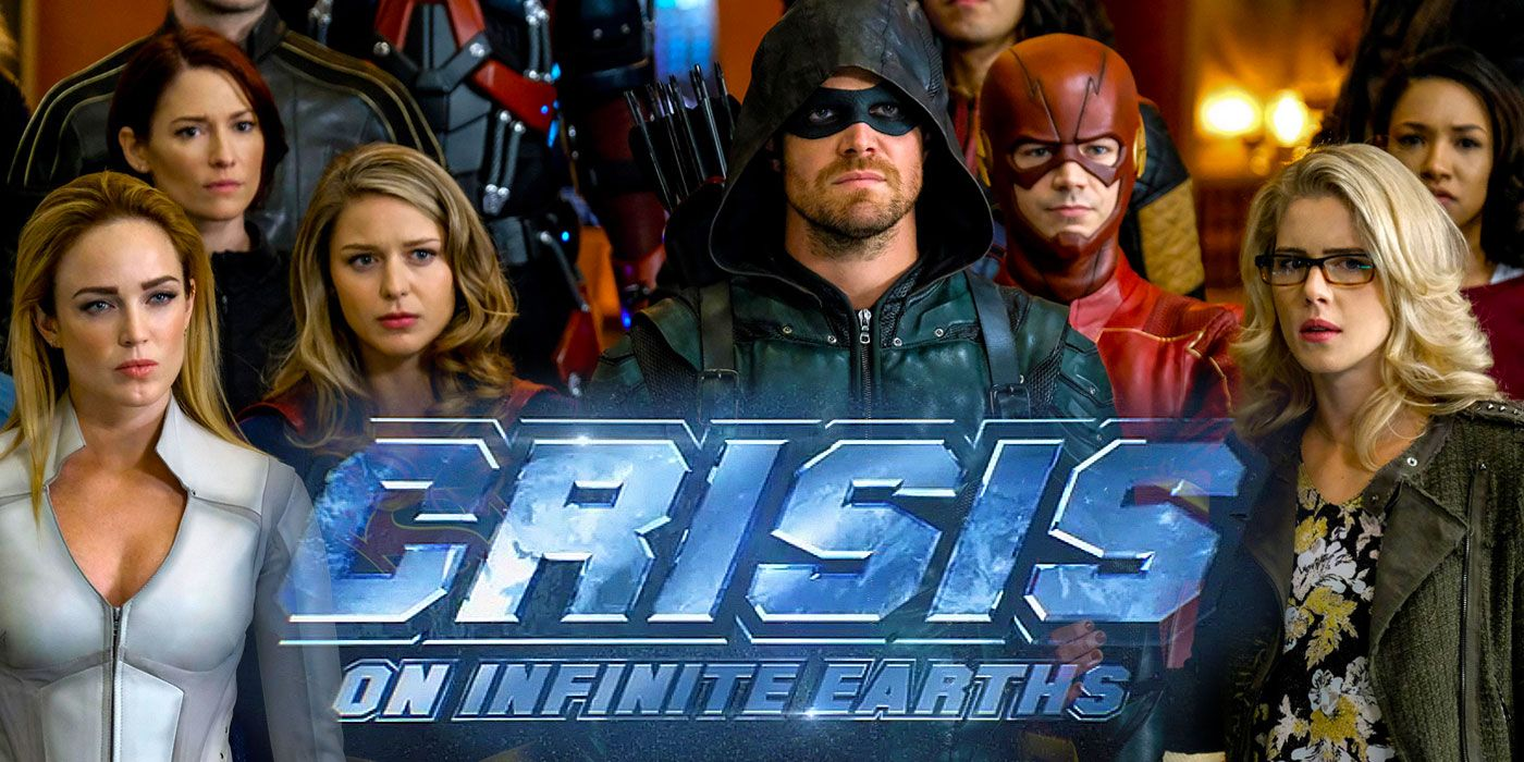 Crisis: Set Footage Teases Arrowverse Crossover's Massive, Climactic Battle