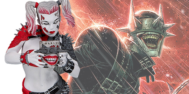 DC Collectibles Introduces Batman Who Laughs Universe's Harley Quinn
