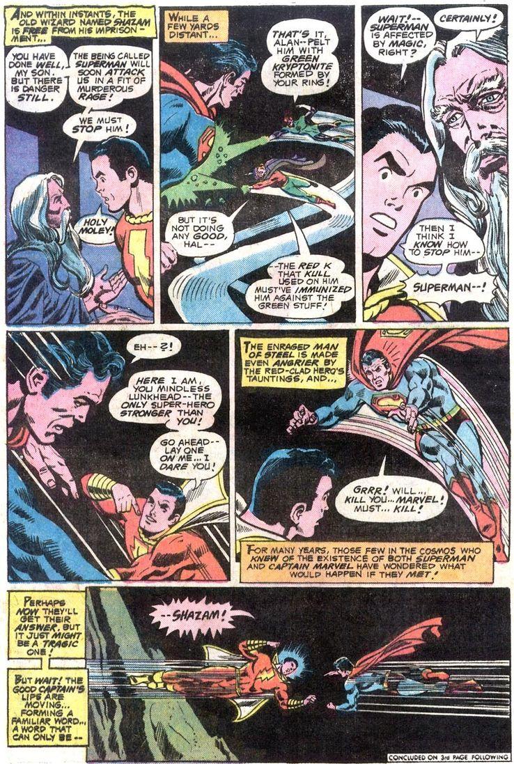 justice league of america 137 1 - Shazam! vs Superman: ¿Quién es más poderoso?