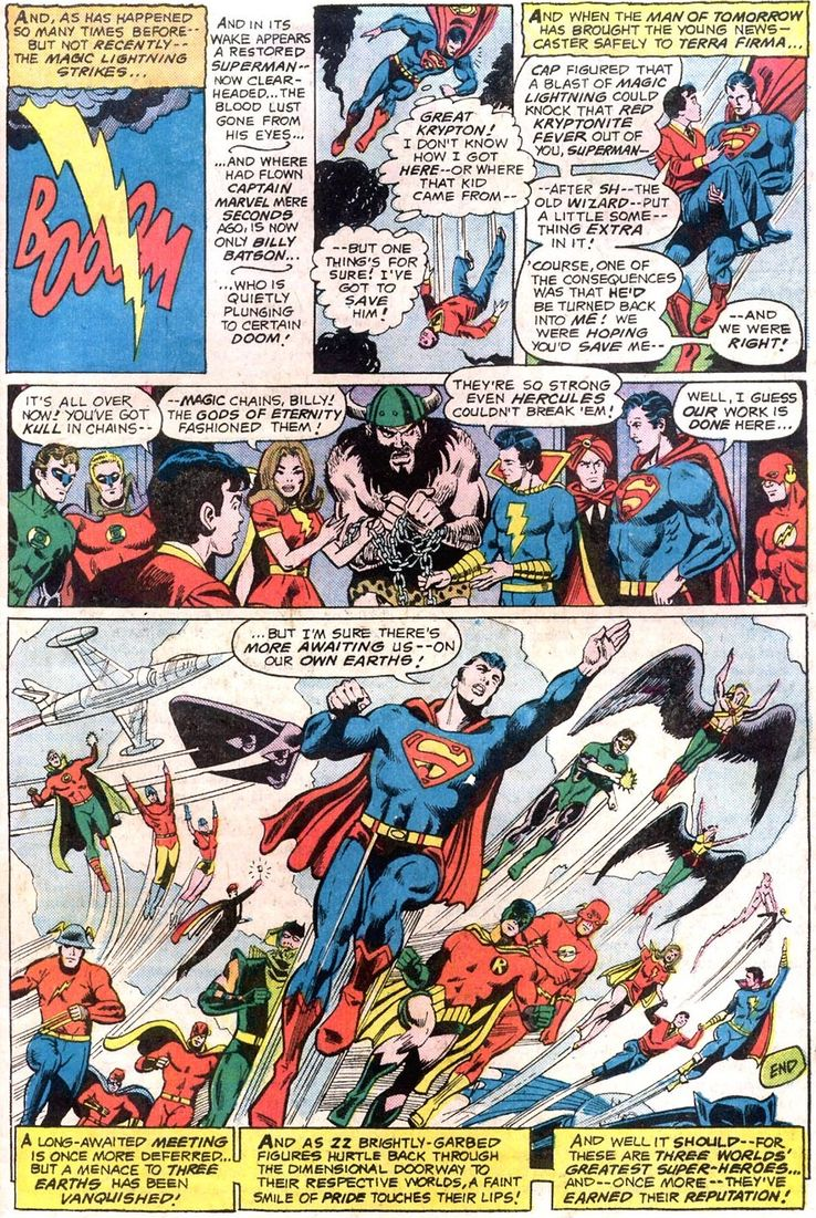 justice league of america 137 2 - Shazam! vs Superman: ¿Quién es más poderoso?