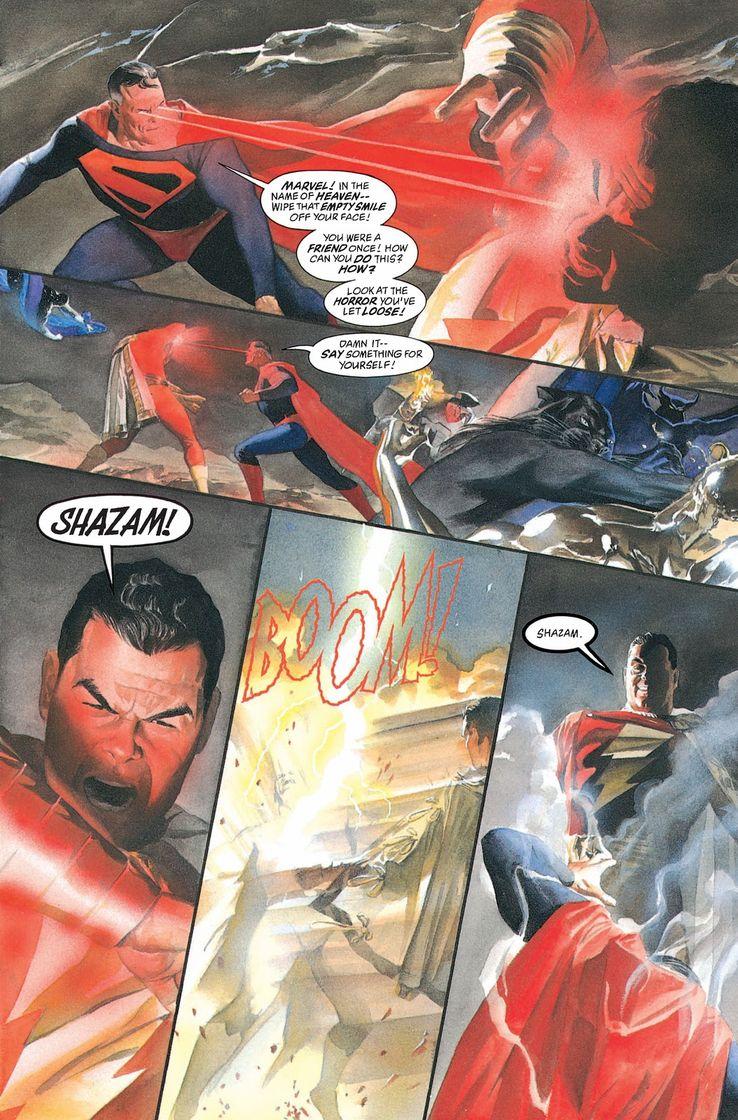 kingdom come 4 1 - Shazam! vs Superman: ¿Quién es más poderoso?